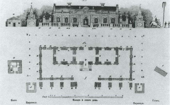 План Ледяного дома Анны Иоанновны. Фото: litmir.me.